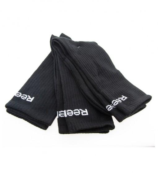 Reebok 3Pk Basic Crew Socks Black 3871TE | Socks | scorer.es
