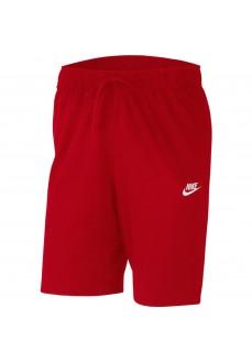 Pantalón Corto Hombre Nike Club Short Rojo BV2772-658 | scorer.es