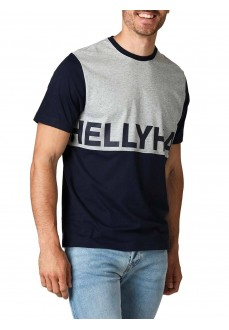 Helly Hansen Men's T-Shirt Active T-Shirt Navy Blue/Gray 53428-597