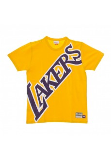 Camiseta Hombre Mitchell & Ness Los Angeles Lakers Amarillo SSTEBW19070-LALGOLD | scorer.es