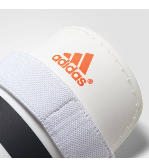 Adidas Everlite White/Black/Orange Shin Guards | Football accessories | scorer.es