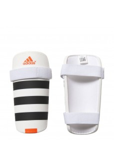 Adidas Everlite White/Black/Orange Shin Guards