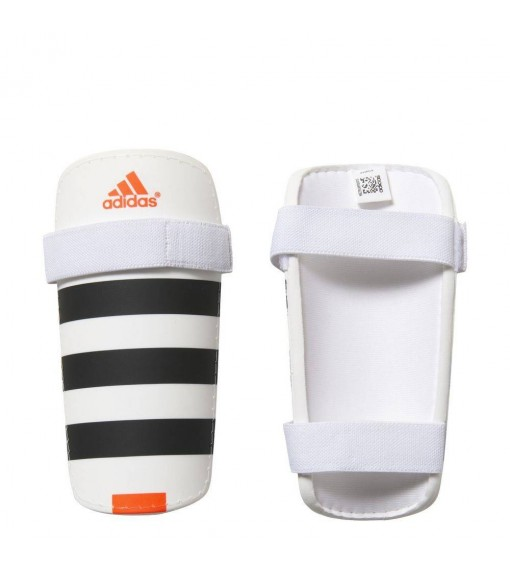 Espinilleras Adidas Everlite Blanco/Negro/Naranja | scorer.es