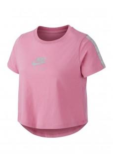 Camiseta Niño/a Nike Tee Crop Air Rosa CT2778-693 | scorer.es