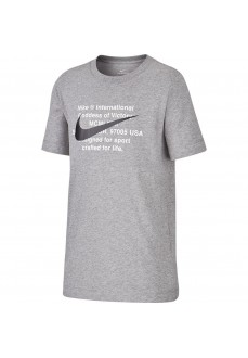 Camiseta Niño/a Nike Sportswear Gris/Negro CT2632-091