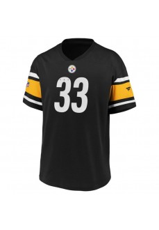 Camiseta Hombre Fanatics Iconic Pittsburgh Steelers Negro 2080MBLKFHEPST