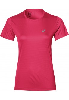 Camiseta Mujer Asics Silver SS Top Rosa 2012A029-700