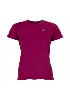 Camiseta Mujer Asics Silver SS Top Granate 2012A029-605