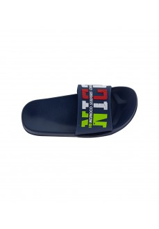 Nicoboco Kids' Flip Flops Yakele Navy Blue 32-355-010