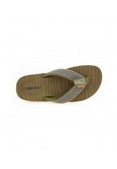 Nicoboco Men's Flip Flops Bitor Kaki 32-336-040 | Men's Sandals | scorer.es