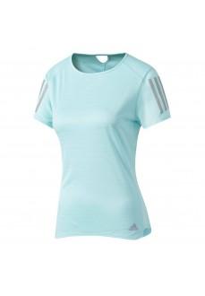 Adidas Turquoise Short-Sleeve T-shirt