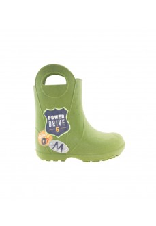 Plugt Army Green Waterproof Boots