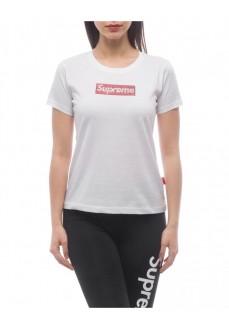 Camiseta Supreme Mujer Sleeve Print Valery Blanco 20085-SPR-19-002-30033 | scorer.es
