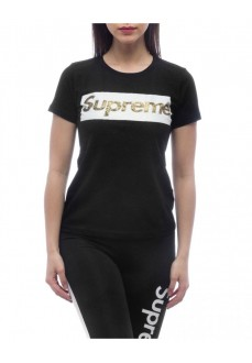 Supreme Women's T-Shirt Sleeve Laila Black 20004-TPR-19-000-30000