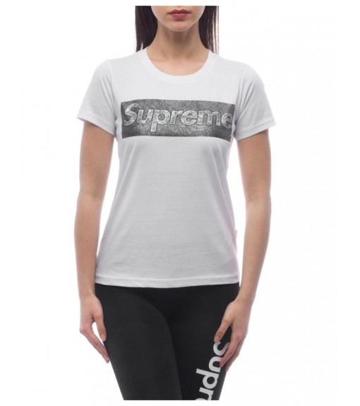 Camiseta Supreme Mujer Sleeve Laila Blanca 20004-TPR-19-002-30001   scorer.es