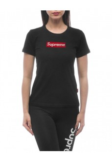 Camiseta Supreme Mujer Sleeve Print Valery Negra 20085-TPR-19-000-30033