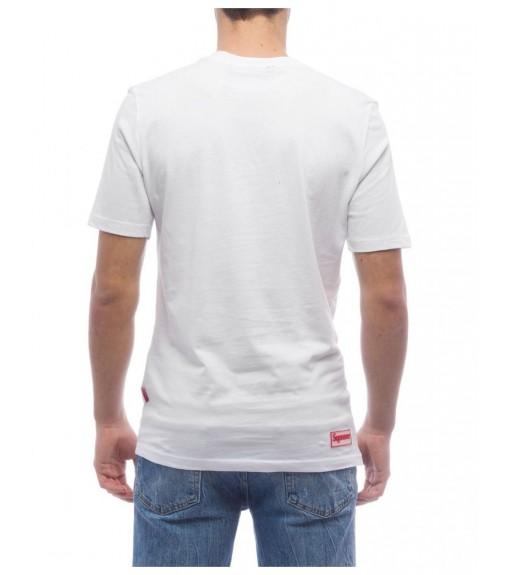 Camiseta Supreme Hombre Sleeve Michael Blanca 10010-TPR-19-002-30003   scorer.es