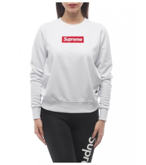 Supreme Women's Sweatshirt Print Naomi White 20020-SPR-19-002-30003 | Women's Sweatshirts | scorer.es