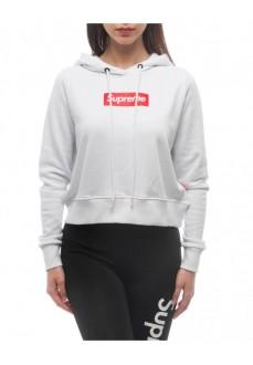 Supreme Women's Sweatshirt Hoody Print Debby White 20021-HPR-19-002-30003 | Women's Sweatshirts | scorer.es