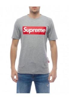 Camiseta Supreme Hombre Sleeve Print Gris 10007-TPR-19-001-30003