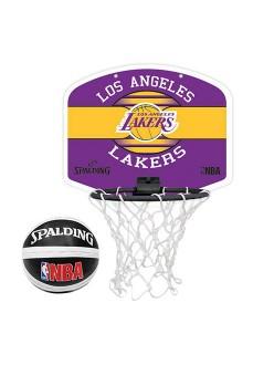 Mini Canasta Spalding Nba Miniboar La Lakers 77-656Z | scorer.es