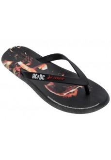 Rider Men's Flip Flops ACDC Thong AD Black/Red 82799/21191 | Men's Sandals | scorer.es