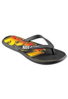 Rider Men's Flip Flops Kiss Thong AD Black/Yellow 82808/20566 | Men's Sandals | scorer.es