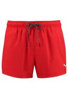 Puma Men's Swimwear Length Swim Red 100000029-002