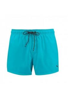Puma Men's Swimwear Length Swim Turquoise 100000029-009