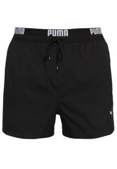 Bañador Hombre Puma Logo Short Negro 100000030-200