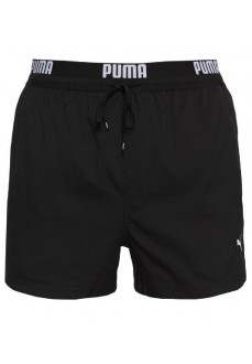 Puma Men's Swimsuit Logo Short Black 100000030-200