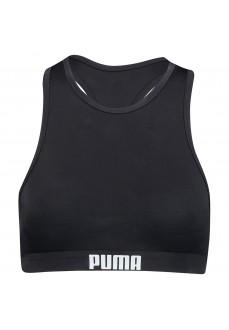 BikiniTop Mujer Puma Halter Negro 100000088-200 | scorer.es