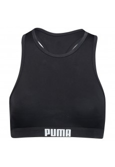 Puma Women's Bikini Top Halter Black 100000088-200 | Bikinis | scorer.es