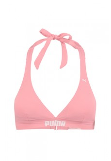 BikiniTop Mujer Puma Halter Rosa 100000039-003 | scorer.es