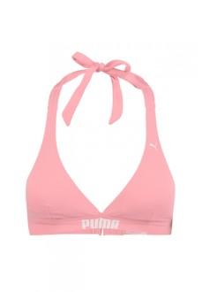 Puma Women's Bikini Top Halter Pink 100000039-003