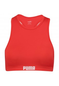 BikiniTop Mujer Puma Racerb Rojo 100000088-002 | scorer.es
