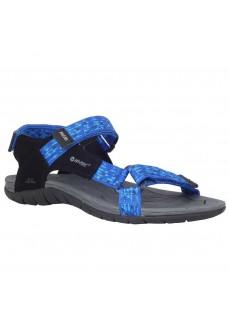 Sandalia Hombre Hi-tec Manati Azul/Negro O090047001