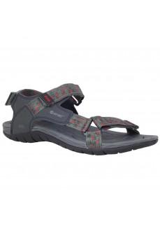 Hi-tec Men's Sandals Manati Gray/Red O090047003 | Trekking shoes | scorer.es