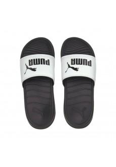 Puma Flip-Flops Popcat 20 White/Black 372017-02 | Men's Sandals | scorer.es