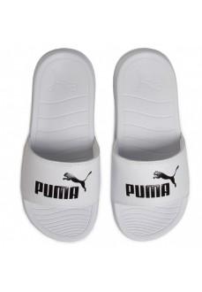 Chancla Puma Popcat 20 Blanco/Negro 372279-02