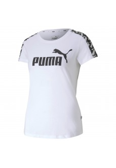 Camiseta Mujer Puma Amplified Blanco 581218-02 | scorer.es
