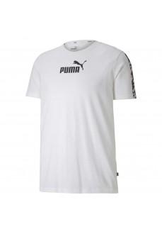 Camiseta Hombre Puma Amplified Tee Blanca 581384-02   scorer.es
