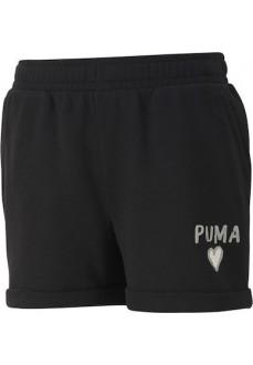 Pantalón Corto Niño/a Puma Alpha Negro 581402-01