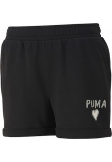 Puma Kid's Shorts Alpha Black 581402-01