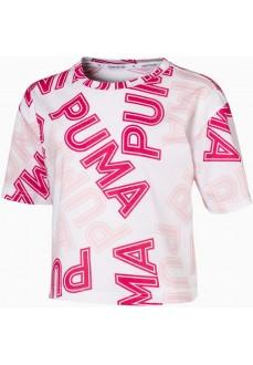 Camiseta Niño/a Puma Modern Sports Aop Rosa 581430-52