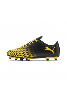 Puma Men's Trainers Spirit II FG Black/Yellow 106066-01 | Men's Football Boots | scorer.es