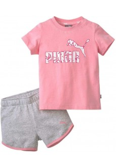 Puma Infant Minicats Alpha Set Gray/Pink 581452-74