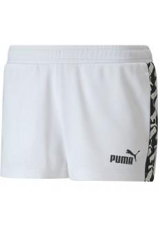 Pantalón Corto Mujer Puma Amplified 2 Blanco 582548-02