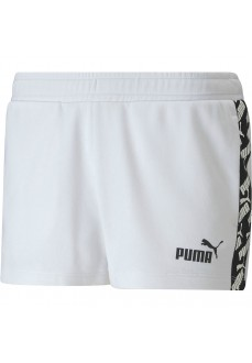 Puma Women's Shorts Amplified 2 White 582548-02 | Trousers for Women | scorer.es