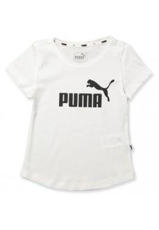 Puma Girl's T-Shirt Ess Tee White 851757-02